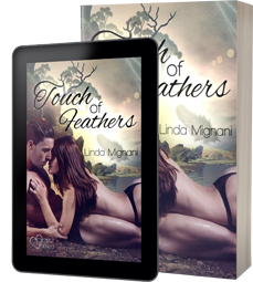 Buchcover von:  Touch of Feathers
